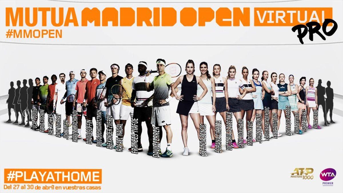 Mutua Madrid Open Virtual Pro