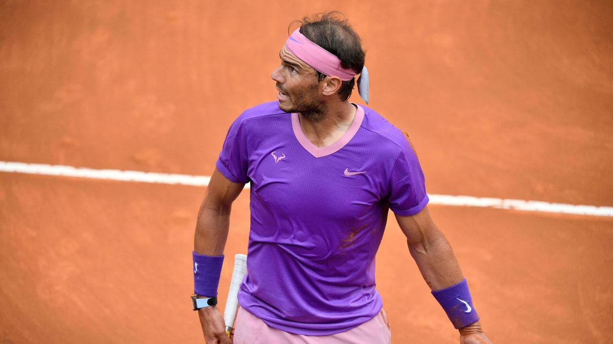 Rafael Nadal 2021 in Rom