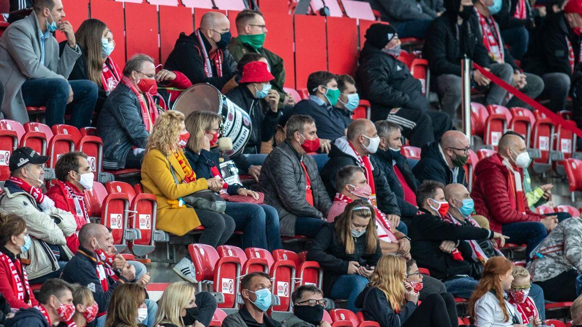 Union Berlin will bald wieder Fans im Stadion an der Alten Försterei begrüßen können