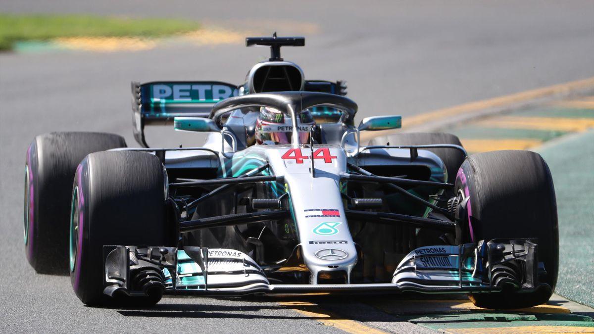 Lewis Hamilton (Mercedes) - GP of Australia 2018