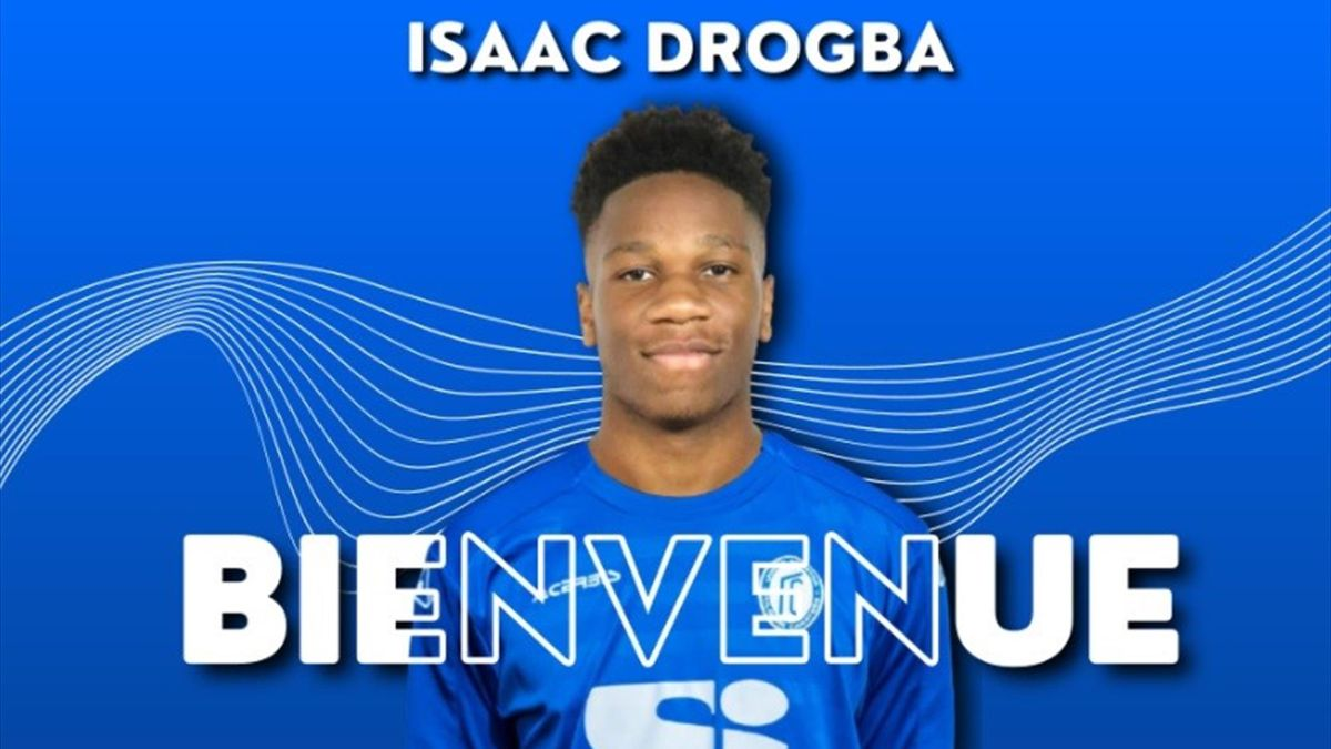 Drogba alla Folgore Caratese - from official web site - credit @folgorecaratese.it