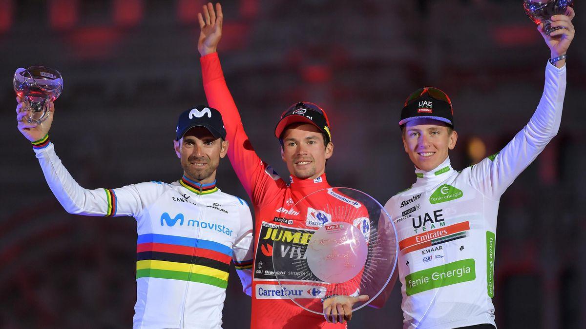 Roglic, Valverde, Pogacar - Vuelta 2019 - Getty Images