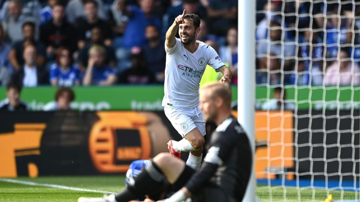 Bernardo Silva, buteur face à Leicester