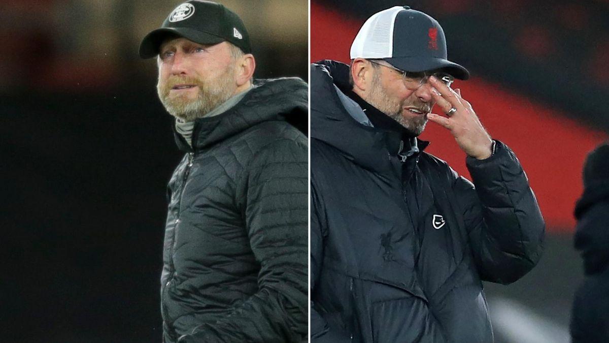 Ralph Hasenhuttl was in tears after Southampton's win over Jurgen Klopp's Liverpool