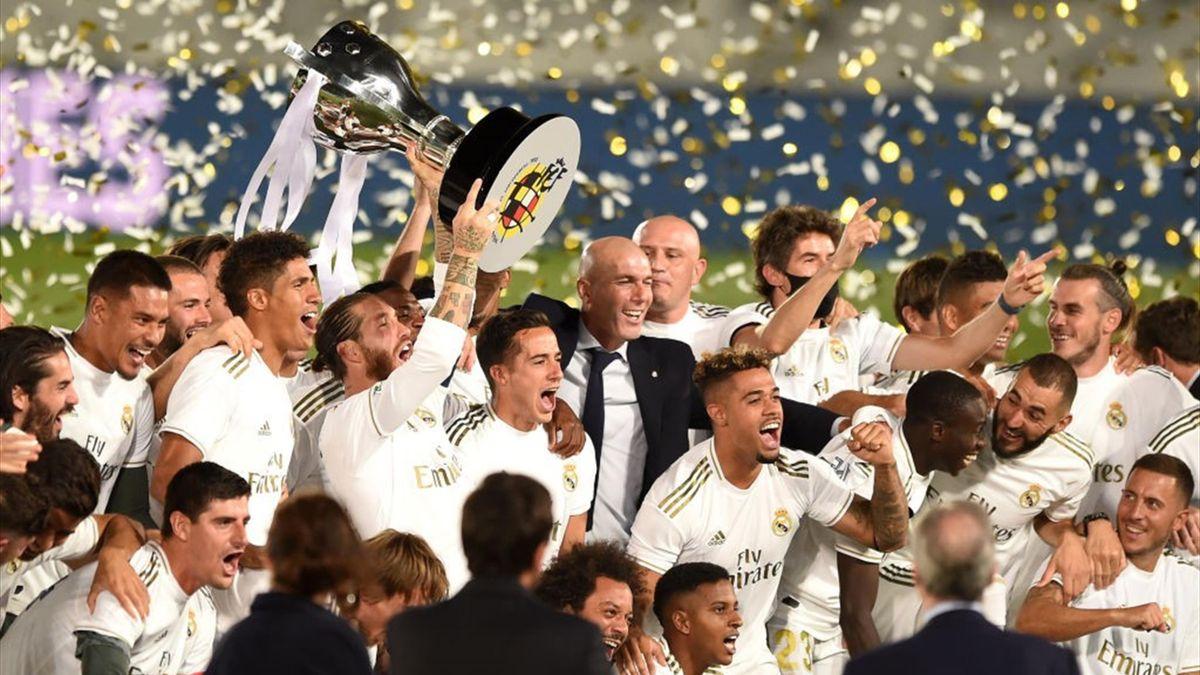 «Реал» – чемпион Испании