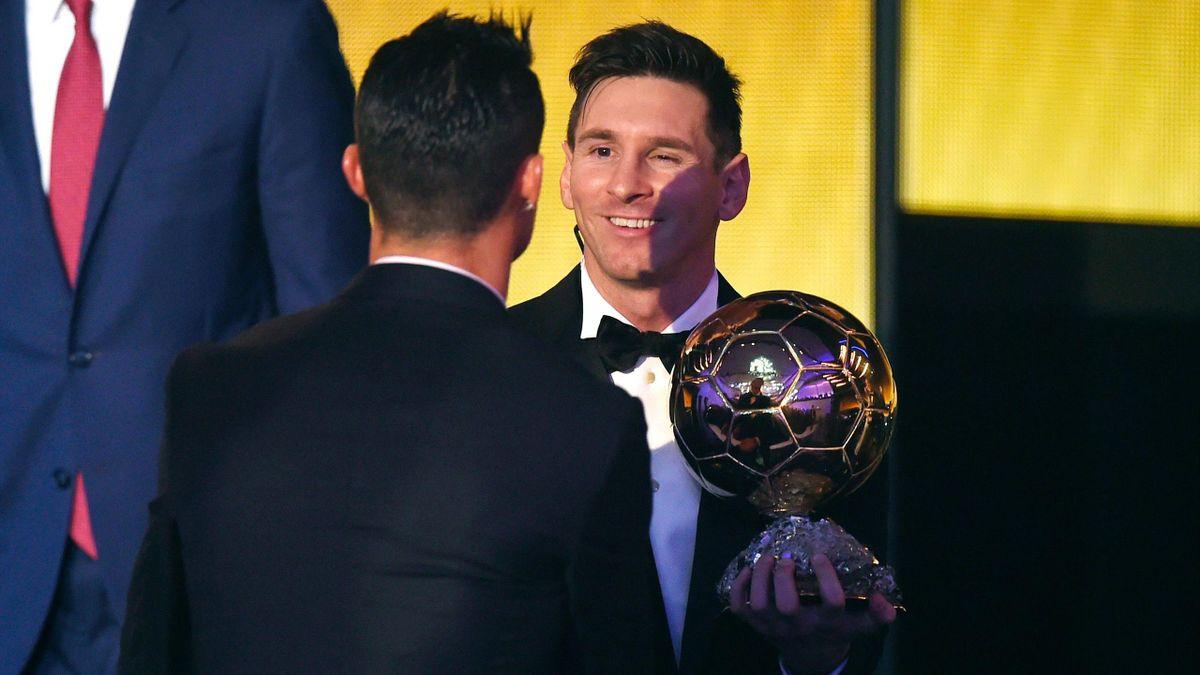 Lionel Messi, Cristiano Ronaldo, Ballon D'Or 2015