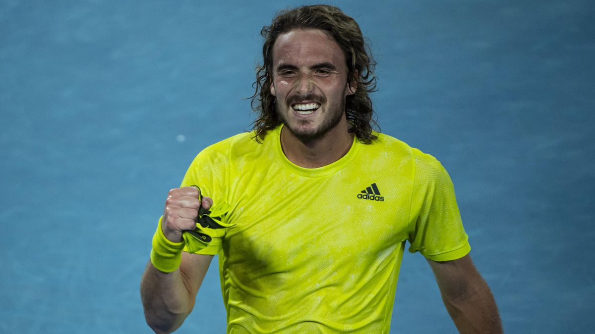 Stefanos Tsitsipas retourne en demi-finale de l'Open d'Australie.