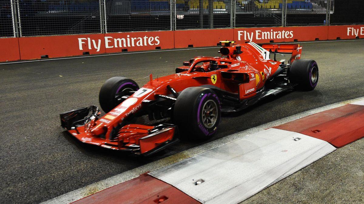 Kimi Räikkönen (Ferrari) - GP of Singapore 2018