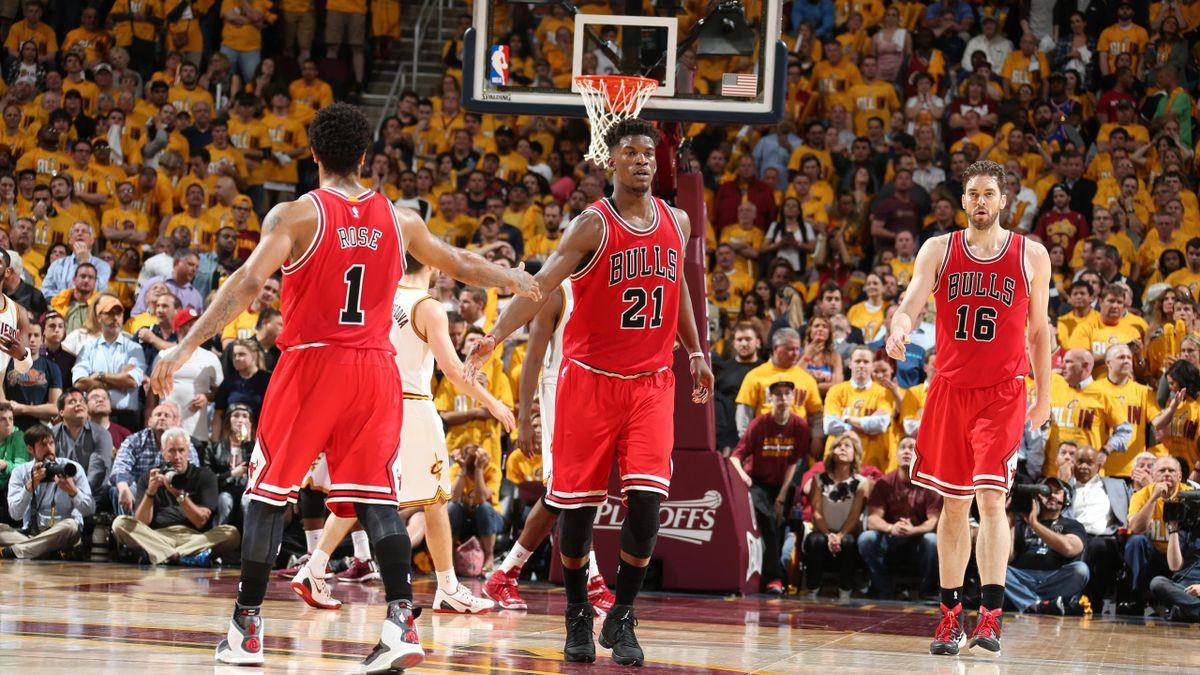 Rose-Butler-Gasol - Chicago NBA playoffs 2015>