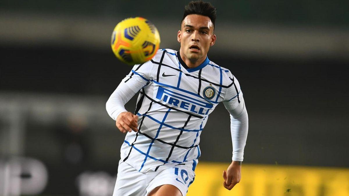 Lautaro Martinez - Hellas Verona-Inter - Serie A 2020/2021 - Getty Images