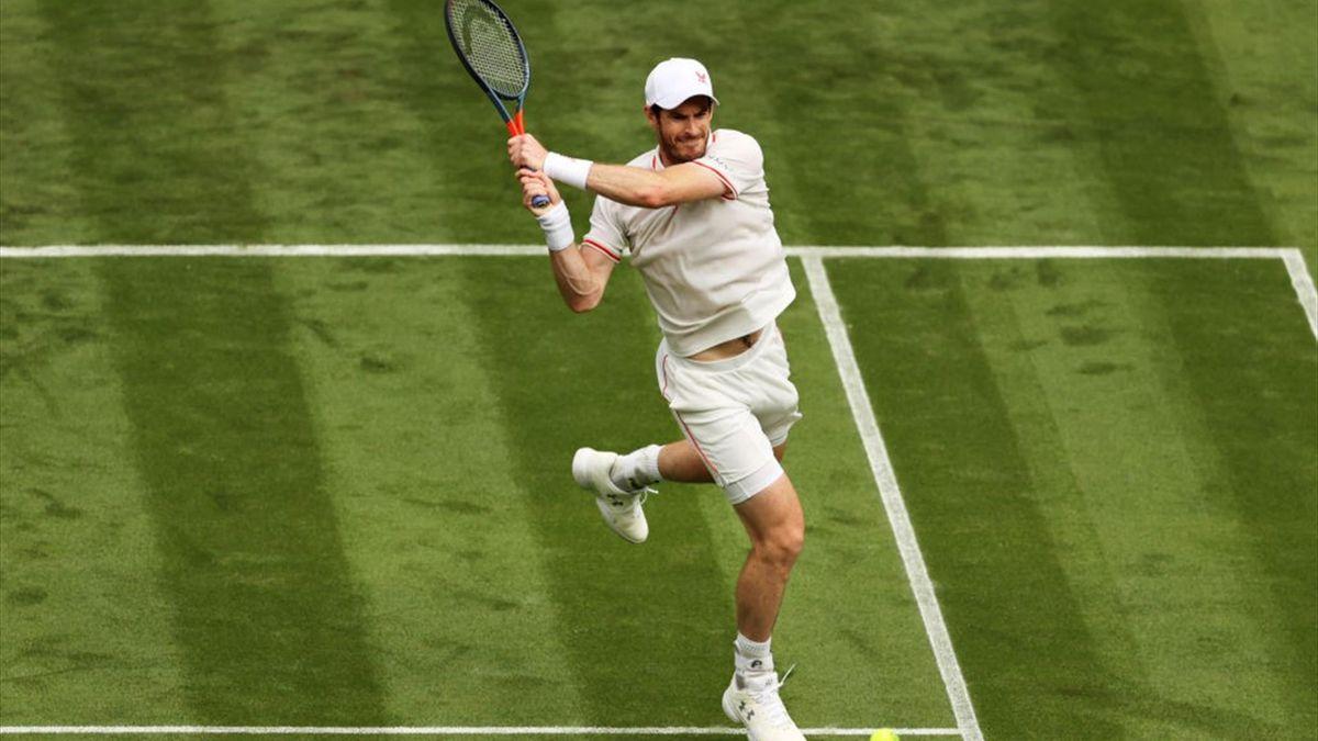 Andy Murray - Wimbledon 2021