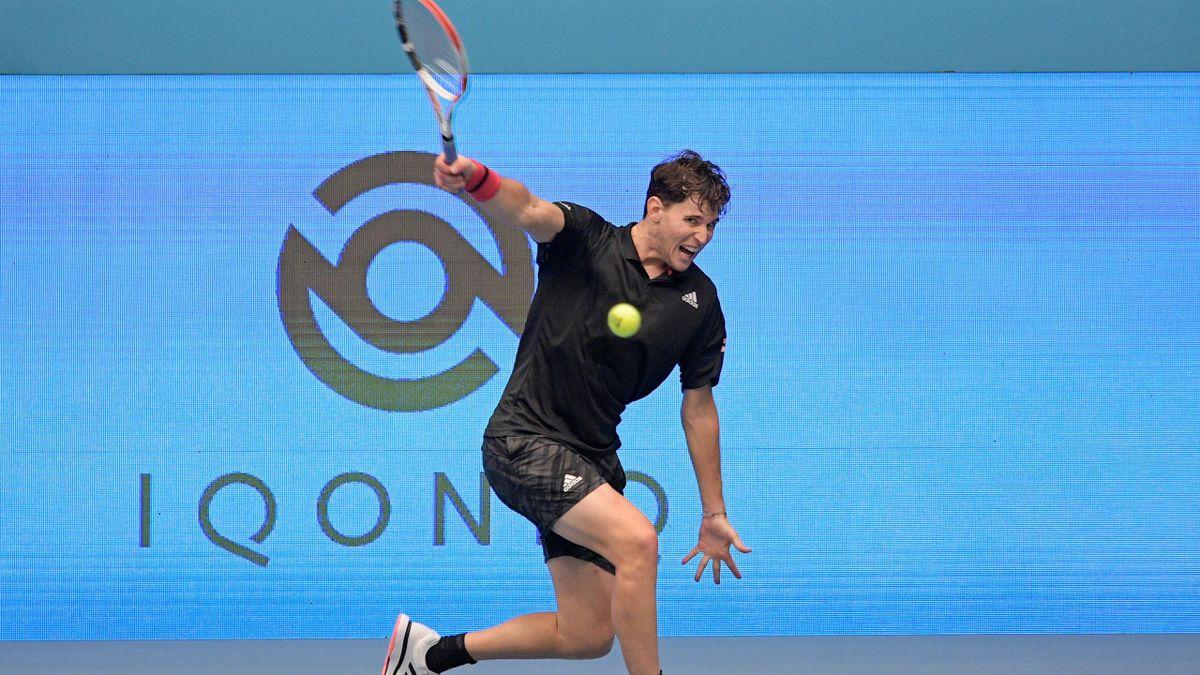 Dominic Thiem ist beim ATP-Turnier in Wien im Viertelfinale ausgeschieden