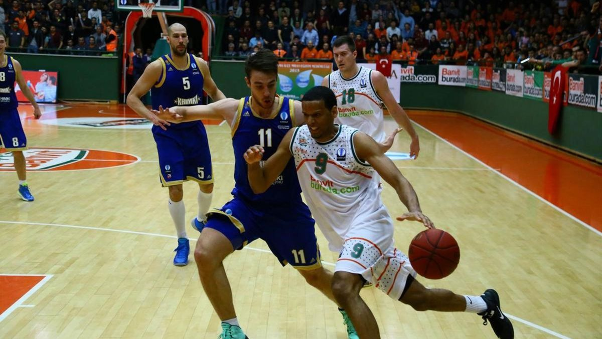 Eurocup semi final first leg Banvit - Khimki