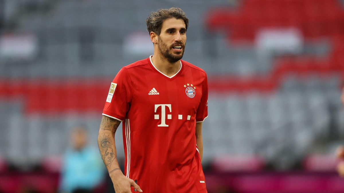 Bayern Munich's Javi Martinez