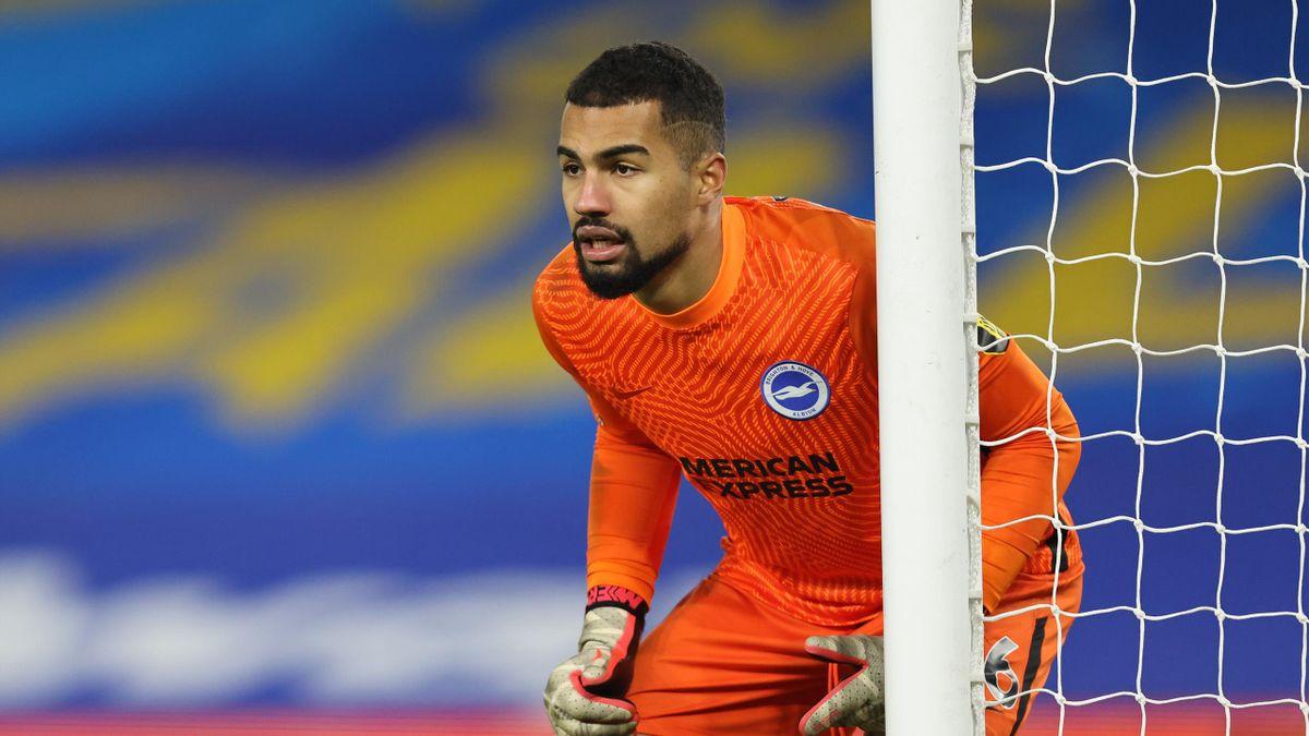 Brighton goalkeeper Robert Sanchez