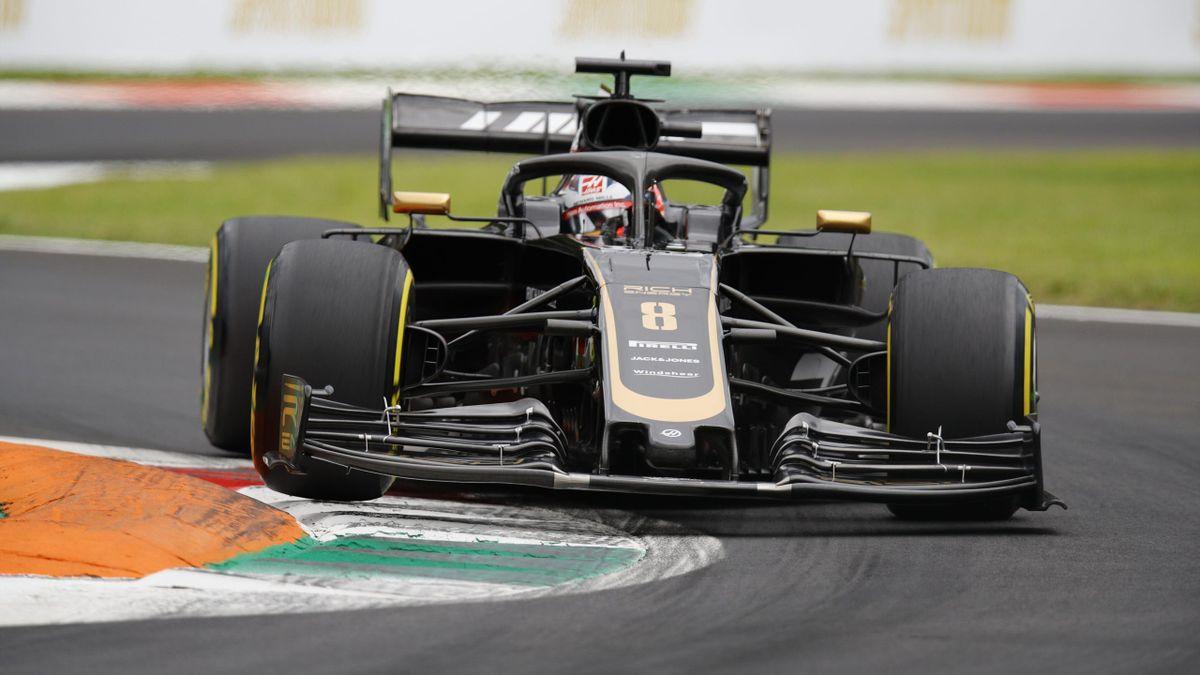 Romain Grosjean (Haas) au Grand Prix d'Italie 2019