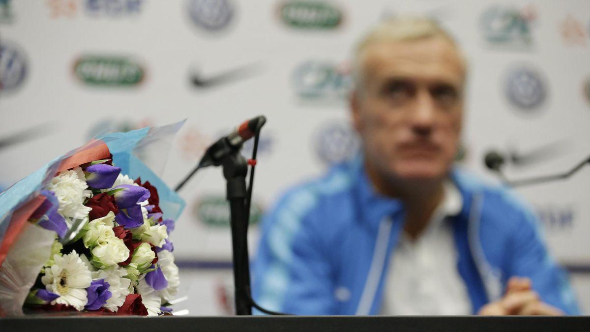 Didier Deschamps, en conférence de presse avant Angleterre-France.