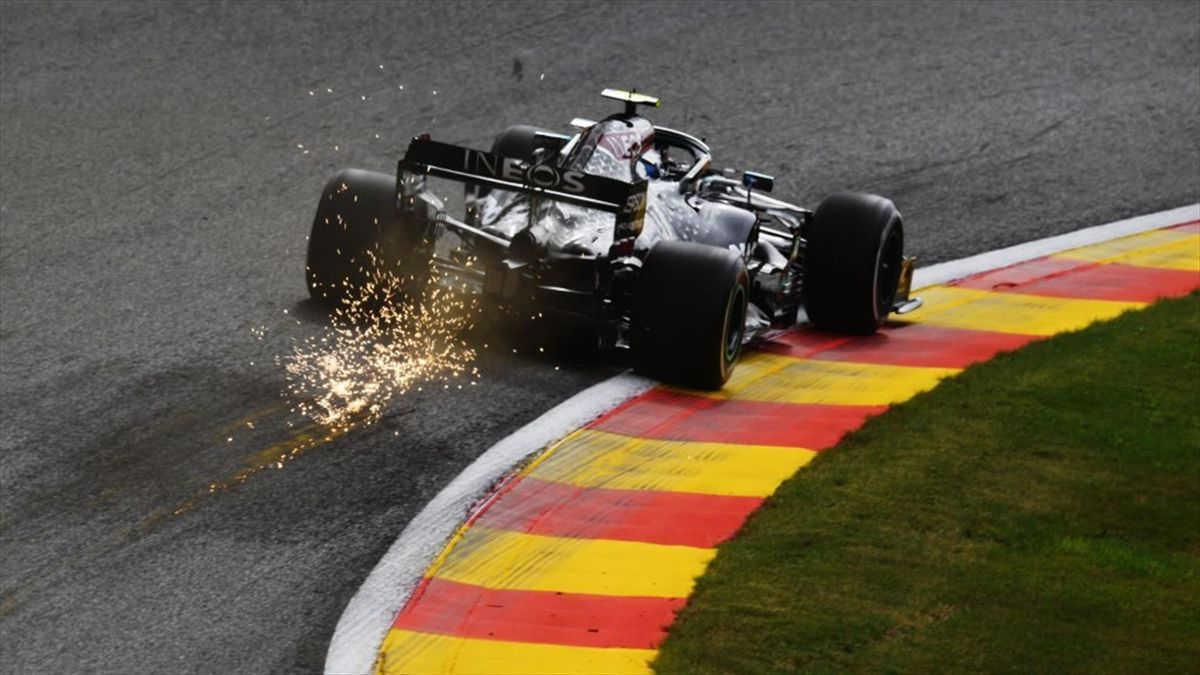 Valtteri Bottas (Mercedes) au Grand Prix de Belgique 2020