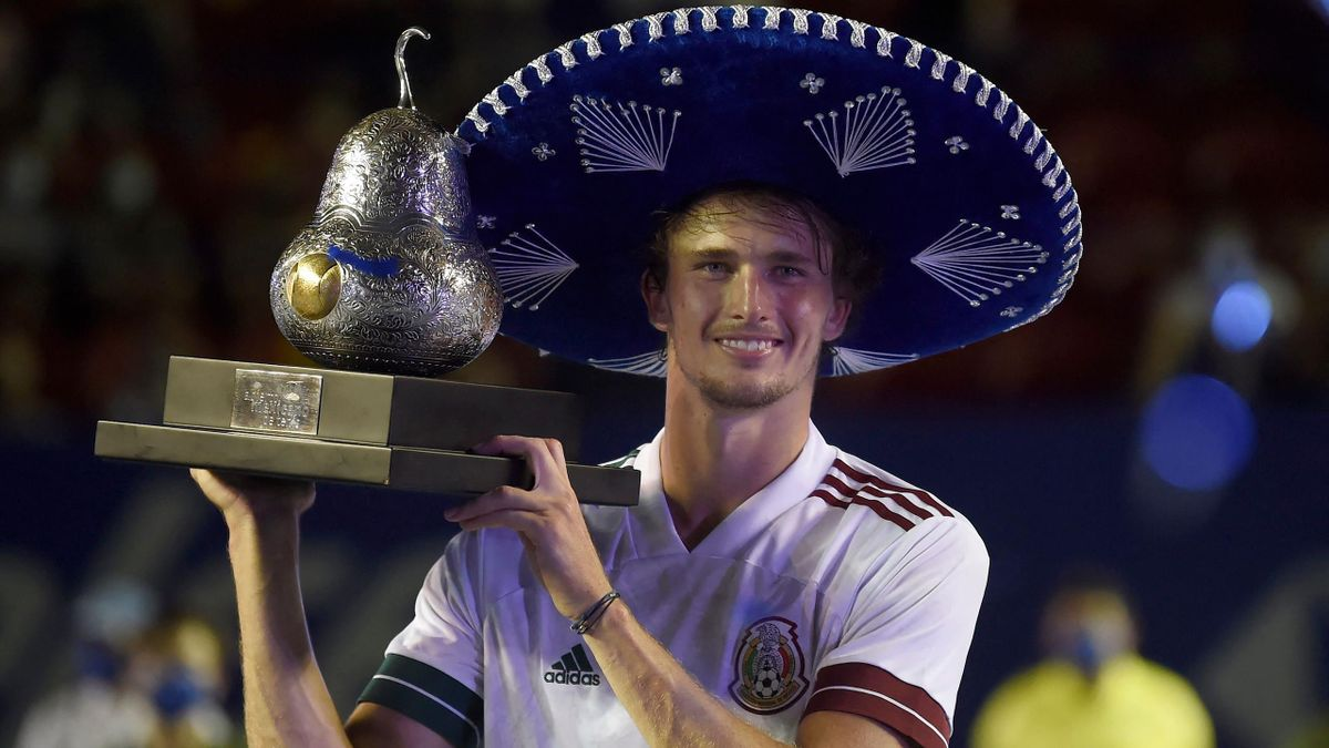 Alexander Zverev holte sich in Acapulco den Turniersieg