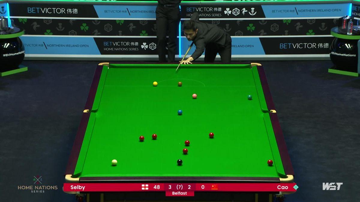 Northern Ireland Open | Yupeng neemt rustig de tijd voor het potten van knappe rode bal