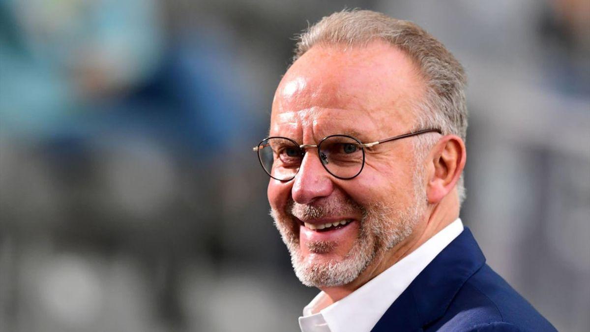 Karl-Heinz Rummenigge vom FC Bayern