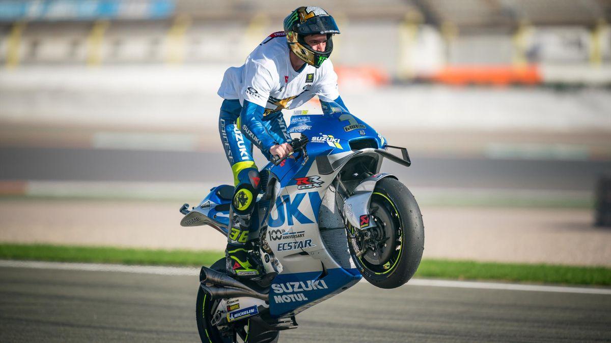 Joan Mir impenna con la MotoGP, Getty Images