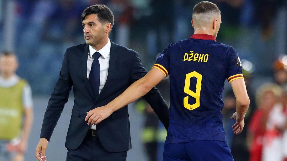 Fonseca e Dzeko - Roma - Europa League 2019-2020