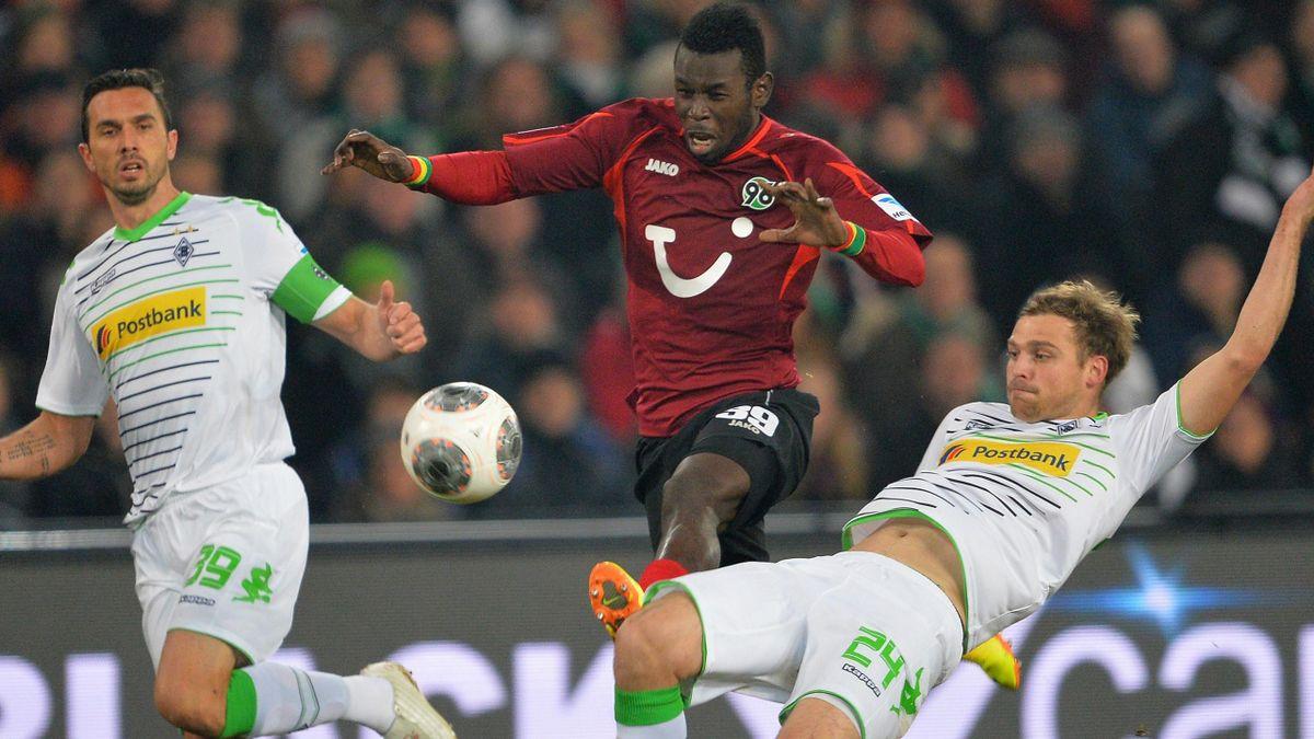 2013/2014 Umkämpftes Duell: Hannover gegen Gladbach