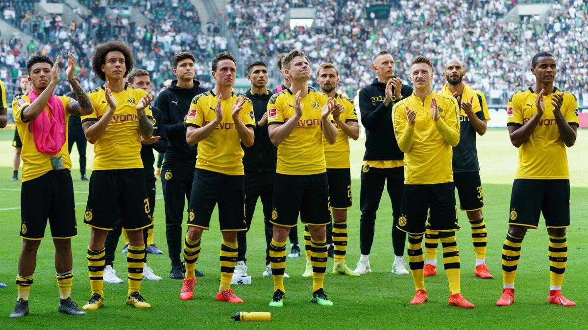 Die Spieler von Borussia Dortmund nach dem verpassten Meistertitel