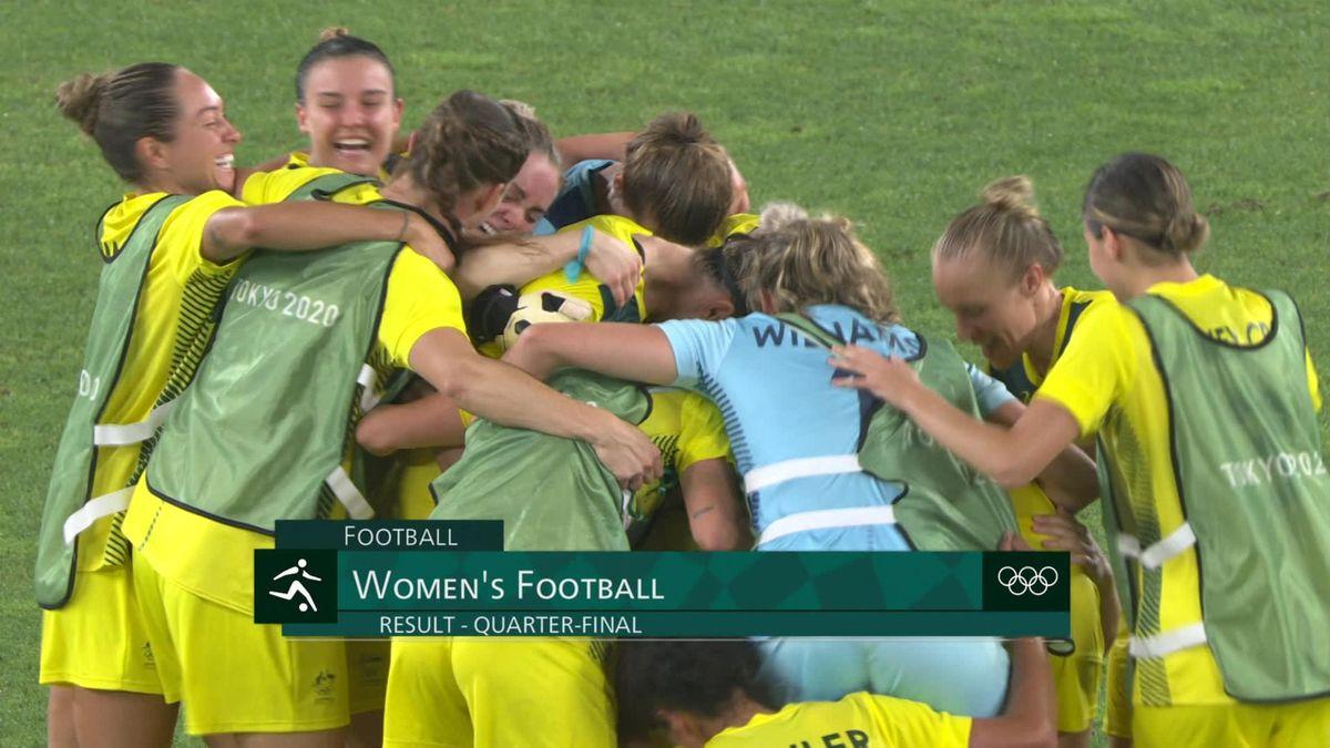 Tokyo 2020 - Australia vs Great Britain - Football - Olympic Highlights