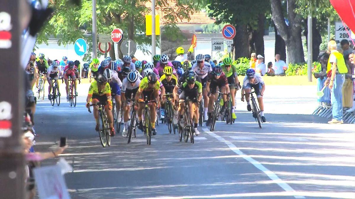 Giro Rosa: Finish Stage 2