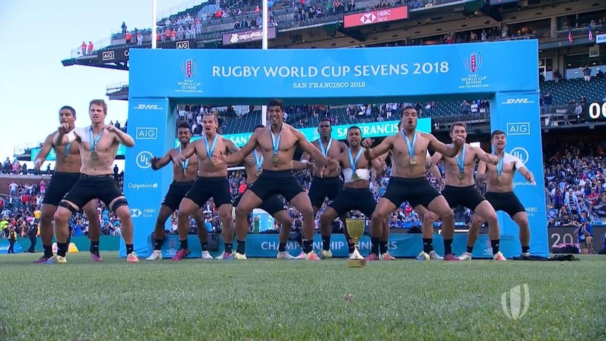 Rugby : New-Zealand winning Haka