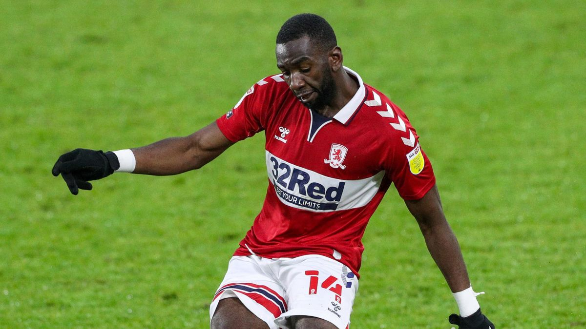 Middlesbrough winger Yannick Bolasie