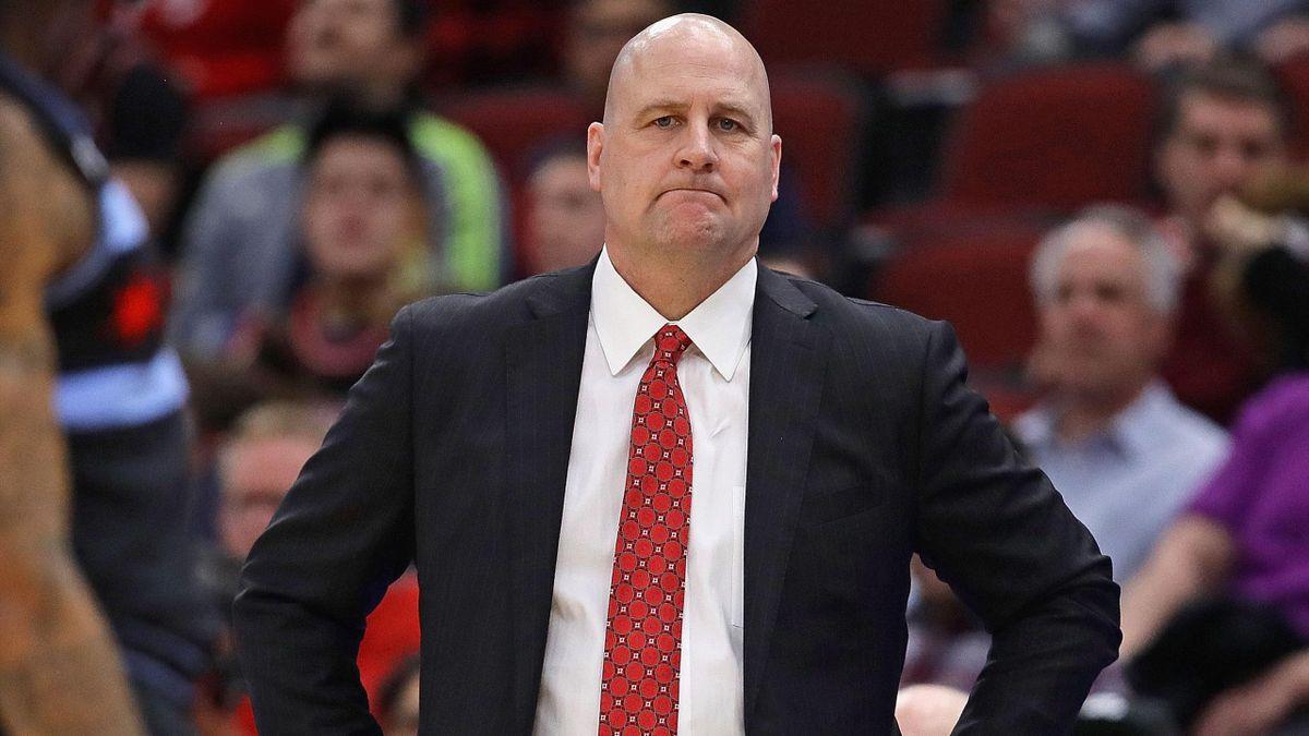 Jim Boylen, coach des Bulls