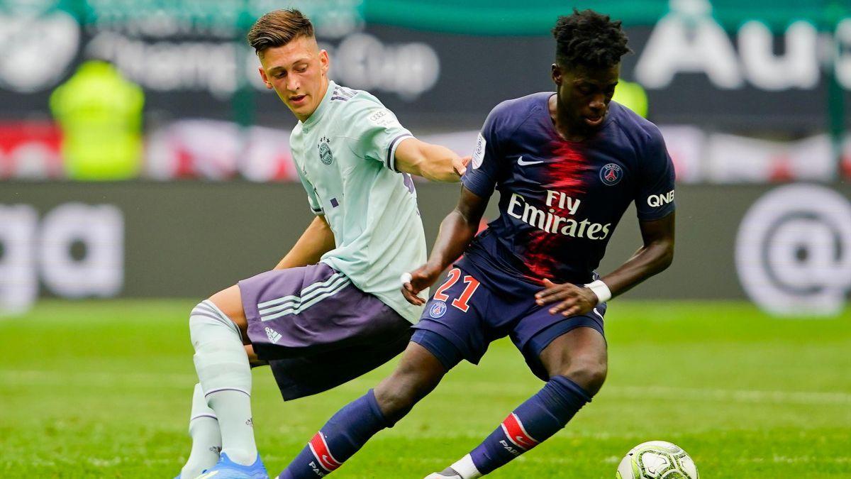 Timothy Weah (PSG) gegen Bayern beim International Champions Cup 2018