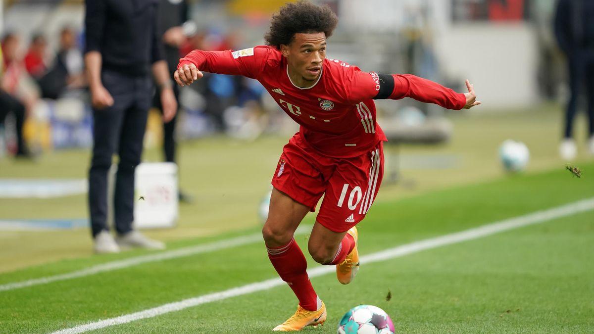 Leroy Sané steht vor einem Comeback beim FC Bayern München