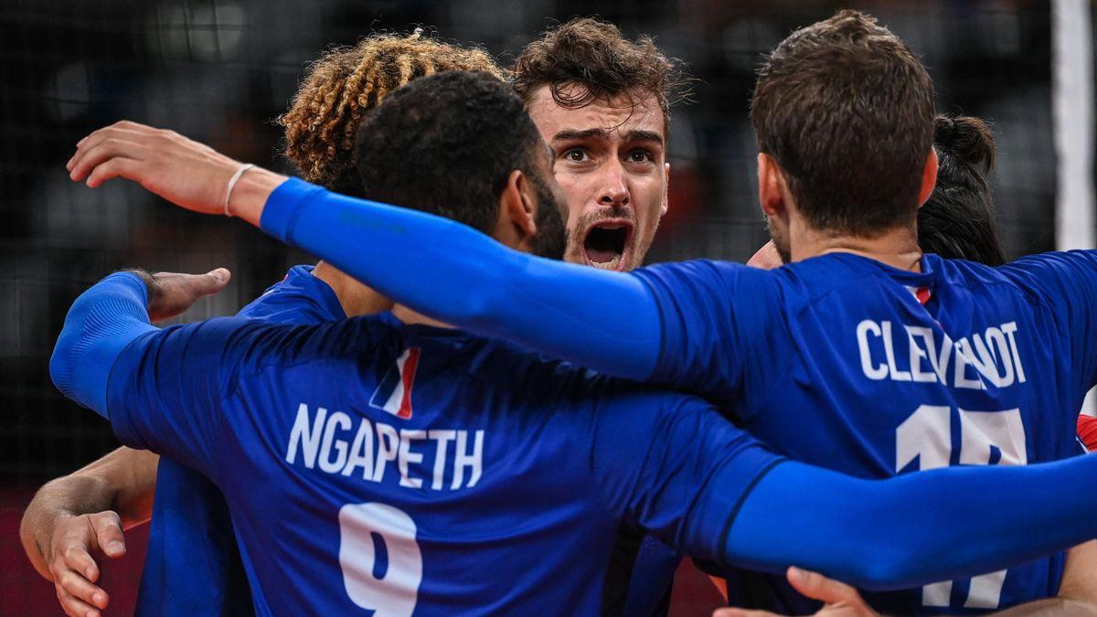 Les Bleus du volley sont en finale !