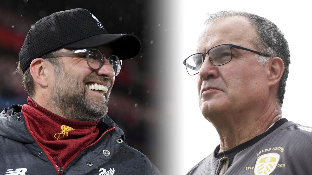 Jurgen Klopp and Marcelo Bielsa are up for FIFA's The Best Men's Coach