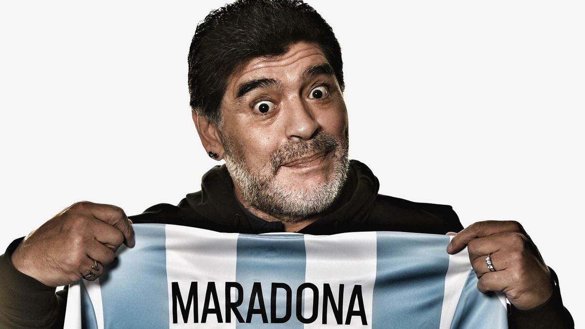 Diego Maradona in 2010