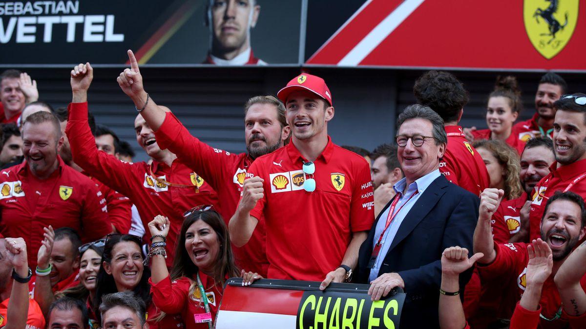Charles Leclerc von Ferrari