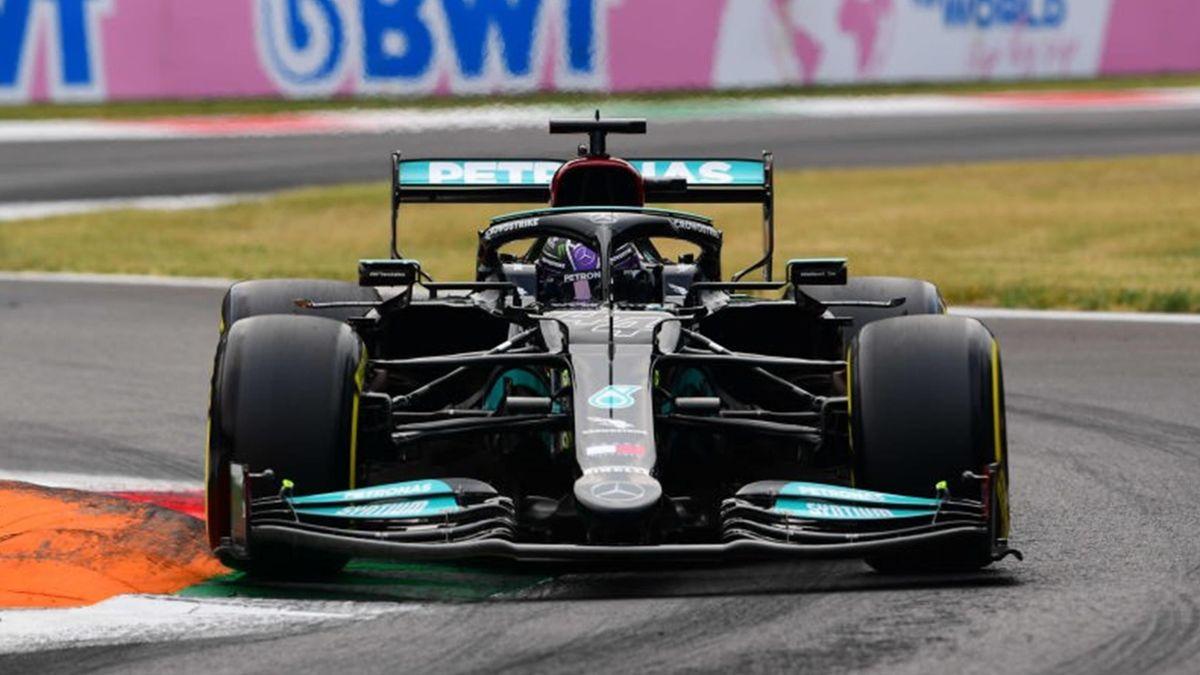 Lewis Hamilton (Mercedes) au Grand Prix d'Italie 2021
