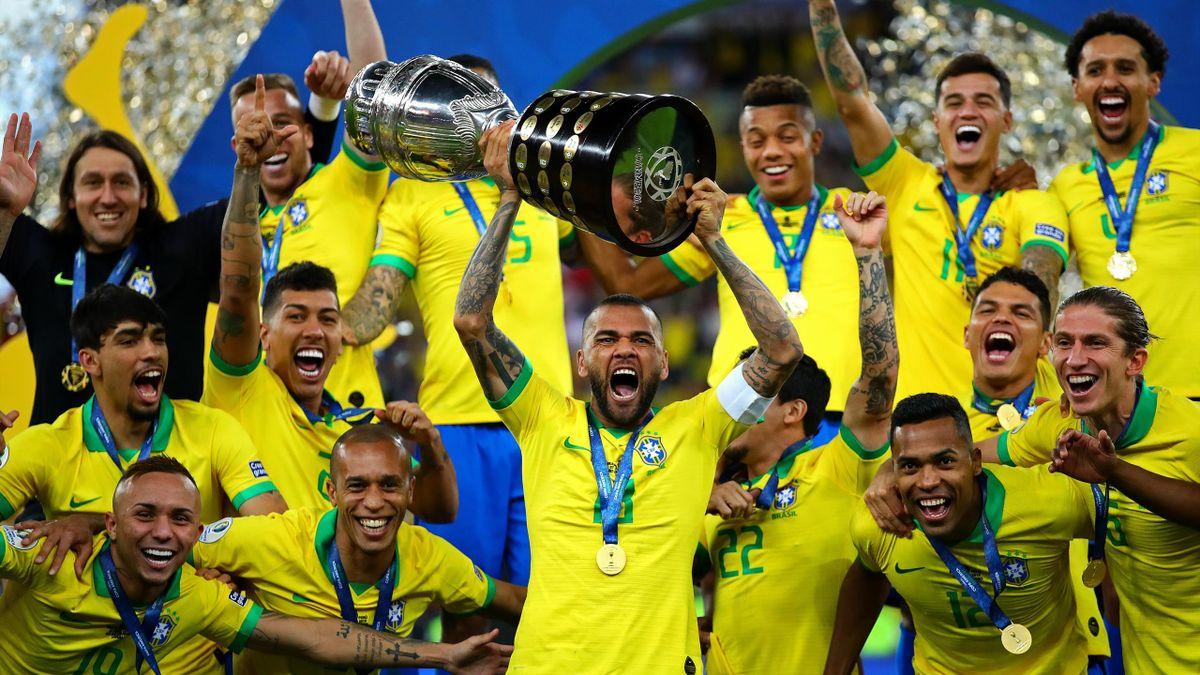 Brazil won the most recent Copa America in 2019