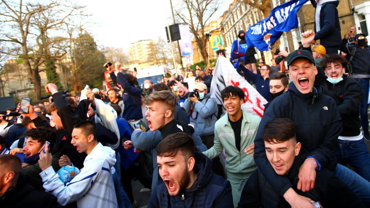 Фанаты «Челси»
