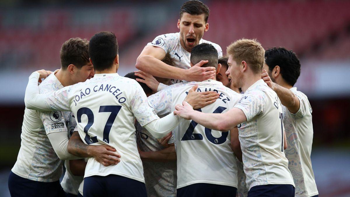 Manchester City feiert den 13. Premier-League-Sieg in Folge