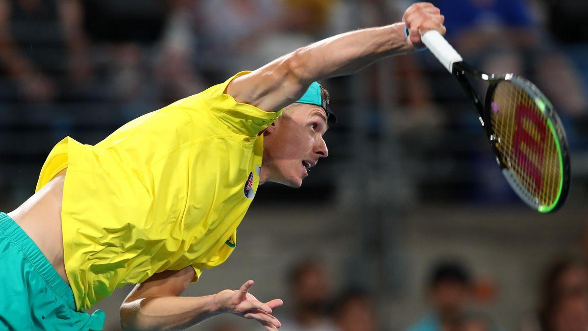 Alex de Minaur à Sydney pour l'ATP Cup en 2020