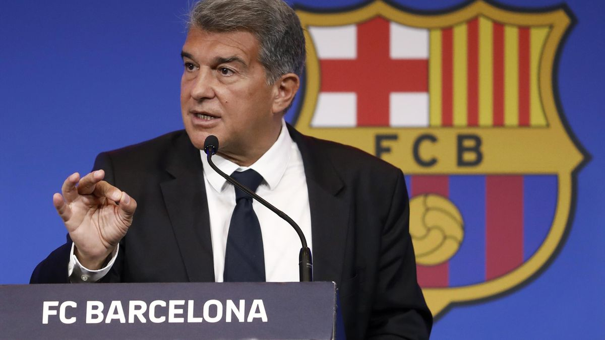 Joan Laporta, FC Barcelona's president