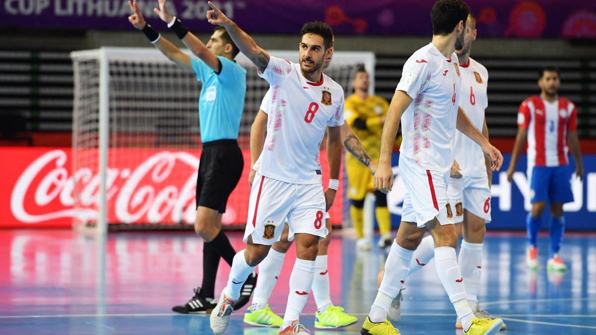 Paraguay-España (Mundial fútbol sala Lituania 2021)