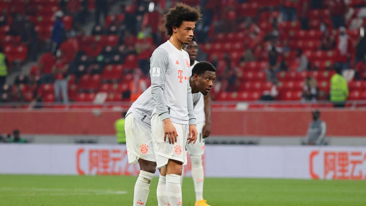 Leroy Sané und David Alaba - FC Bayern München