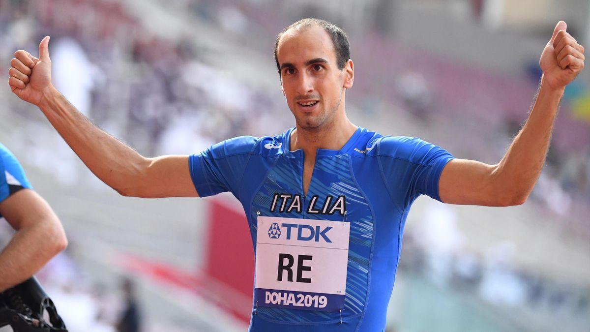Davide Re - 4x400 maschile - Doha 2019