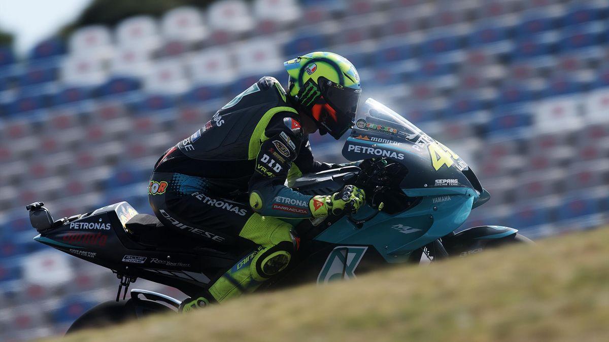 Valentino Rossi, Yamaha Petronas, GP Portogallo 2021, Getty Images